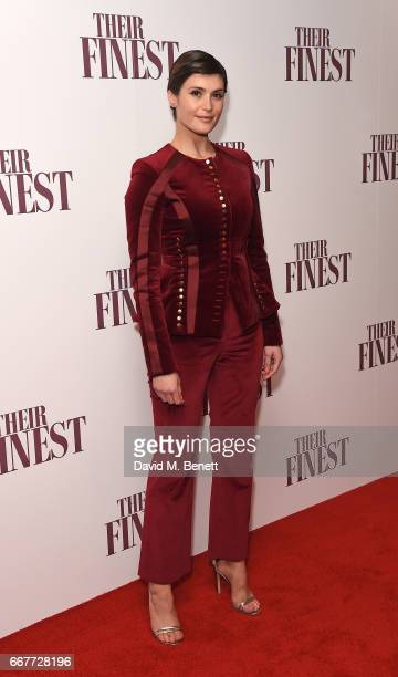 Gemma Arterton attends a special screening of 'Their Finest' at the BFI Southbank on April 12 2017 in London England