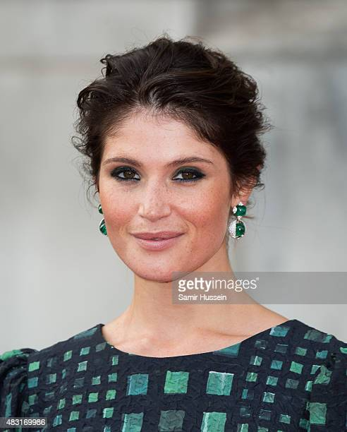 Gemma Arterton attends a UK Premiere of Gemma Bovery at Somerset House on August 6 2015 in London England