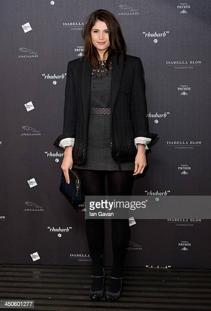 Gemma Arterton attends Isabella Blow Fashion Galore at Somerset House on November 19 2013 in London England