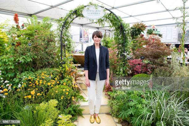 Gemma Arterton attends RHS Chelsea Flower Show press day at Royal Hospital Chelsea on May 22 2017 in London England