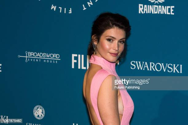 Gemma Arterton attends the 21st British Independent Film Awards at Old Billingsgate in the City of London December 02 2018 in London United Kingdom