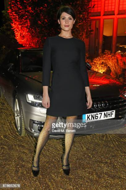 Gemma Arterton attends the Audi A8 Launch at Cowdray House on November 24 2017 in Midhurst England