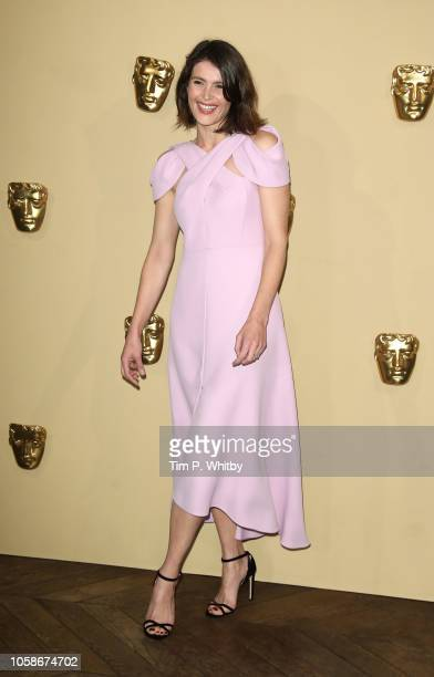 Gemma Arterton attends the BAFTA Breakthrough Brits reception at BAFTA on November 7 2018 in London England