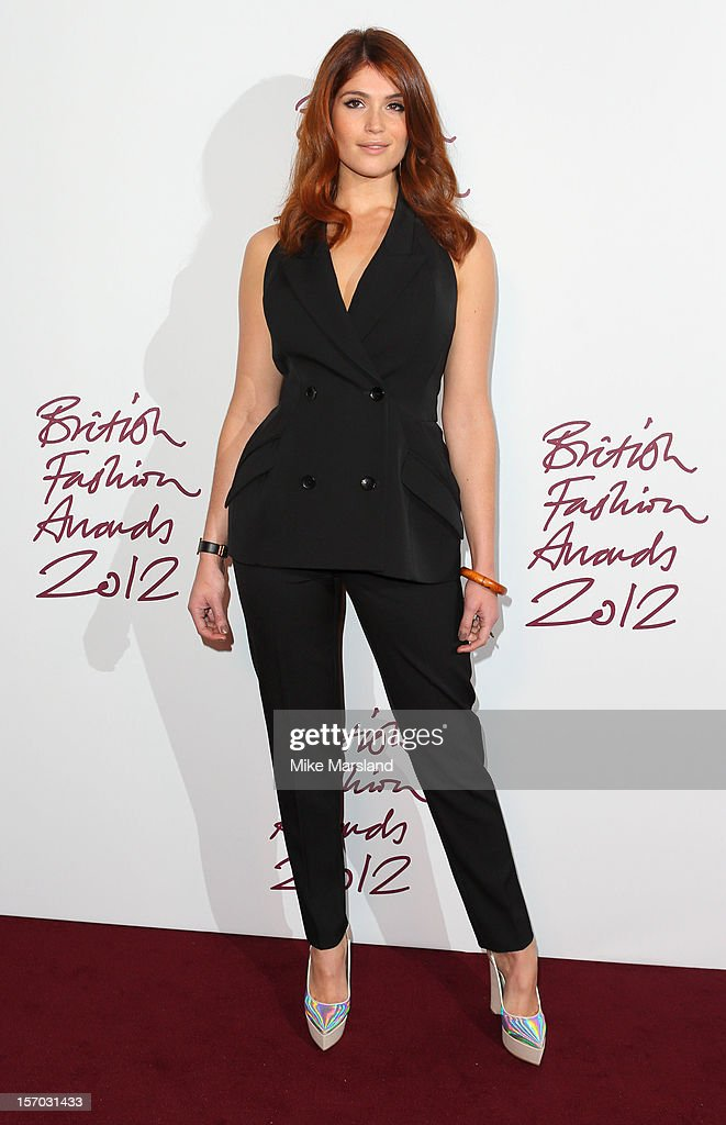 Gemma Arterton attends the British Fashion Awards 2012 at The Savoy Hotel on November 27, 2012 in London, England.