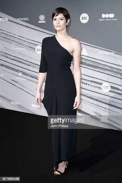 Gemma Arterton attends The British Independent Film Awards at Old Billingsgate Market on December 4 2016 in London England