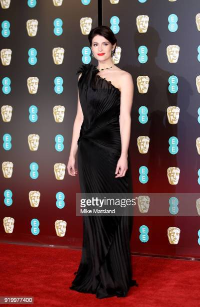 Gemma Arterton attends the EE British Academy Film Awards held at Royal Albert Hall on February 18 2018 in London England