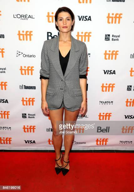Gemma Arterton attends 'The Escape' premiere during the 2017 Toronto International Film Festival at TIFF Bell Lightbox on September 12 2017 in...