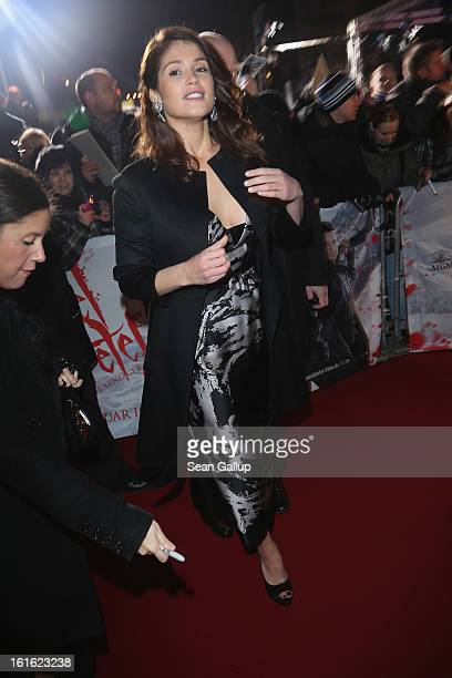 Gemma Arterton attends the German premiere of Hansel and Gretel Witch Hunters at the Kulturbrauerei on February 12 2013 in Berlin Germany
