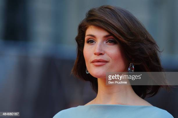 Gemma Arterton attends the Laurence Olivier Awards at The Royal Opera House on April 13, 2014 in London, England.