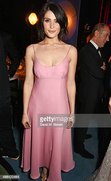 Gemma Arterton attends The London Evening Standard Theatre Awards after party in partnership with The Ivy at The Old Vic Theatre on November 22 2015...