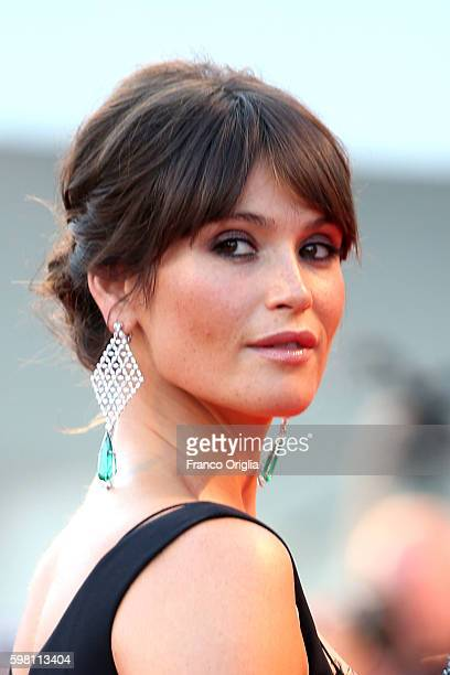 Gemma Arterton attends the opening ceremony and premiere of 'La La Land' during the 73rd Venice Film Festival at Sala Grande on August 31, 2016 in...