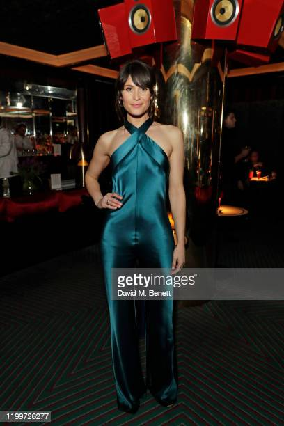 Gemma Arterton attends the Platform Presents Poetry Gala 2020 after party in the Dragon Room at Isabel, Mayfair, on February 9, 2020 in London,...