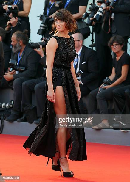 Gemma Arterton attends the premiere of 'The Young Pope' during the 73rd Venice Film Festival at on September 3, 2016 in Venice, Italy.