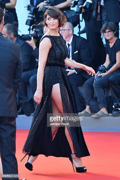 Gemma Arterton attends the premiere of 'The Young Pope' during the 73rd Venice Film Festival at on September 3 2016 in Venice Italy