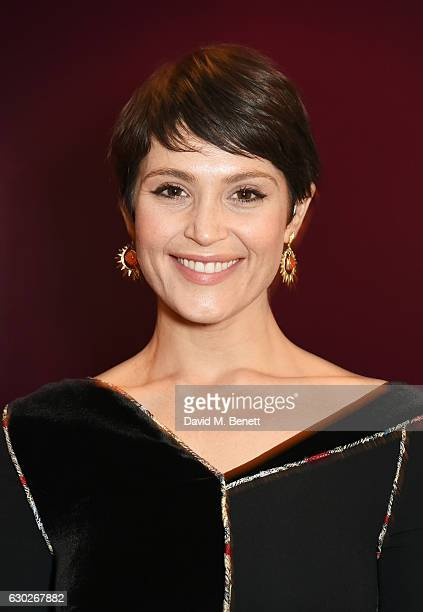 Gemma Arterton attends the press night after party for the Donmar's 'Saint Joan' at The Hospital Club on December 19 2016 in London England