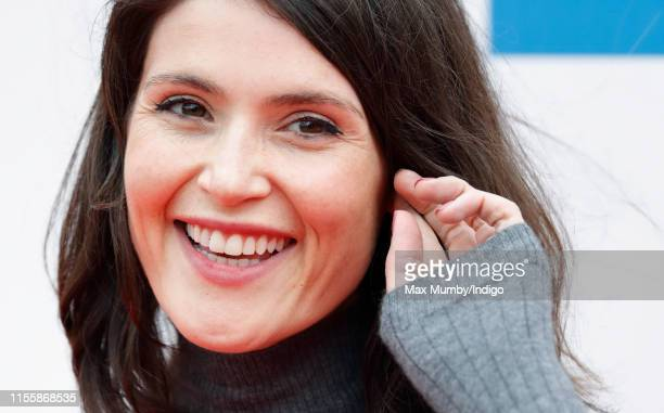 Gemma Arterton attends the Sentebale Audi Concert at Hampton Court Palace on June 11 2019 in London England The charity Sentebale was founded by...