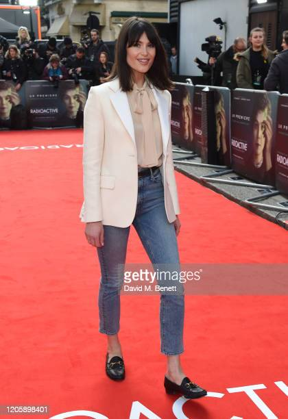 Gemma Arterton attends the UK Premiere of Radioactive at The Curzon Mayfair on March 8 2020 in London England