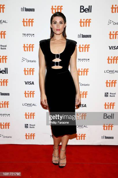 Gemma Arterton attends the Vita Virginia premiere during 2018 Toronto International Film Festival at Winter Garden Theatre on September 11 2018 in...