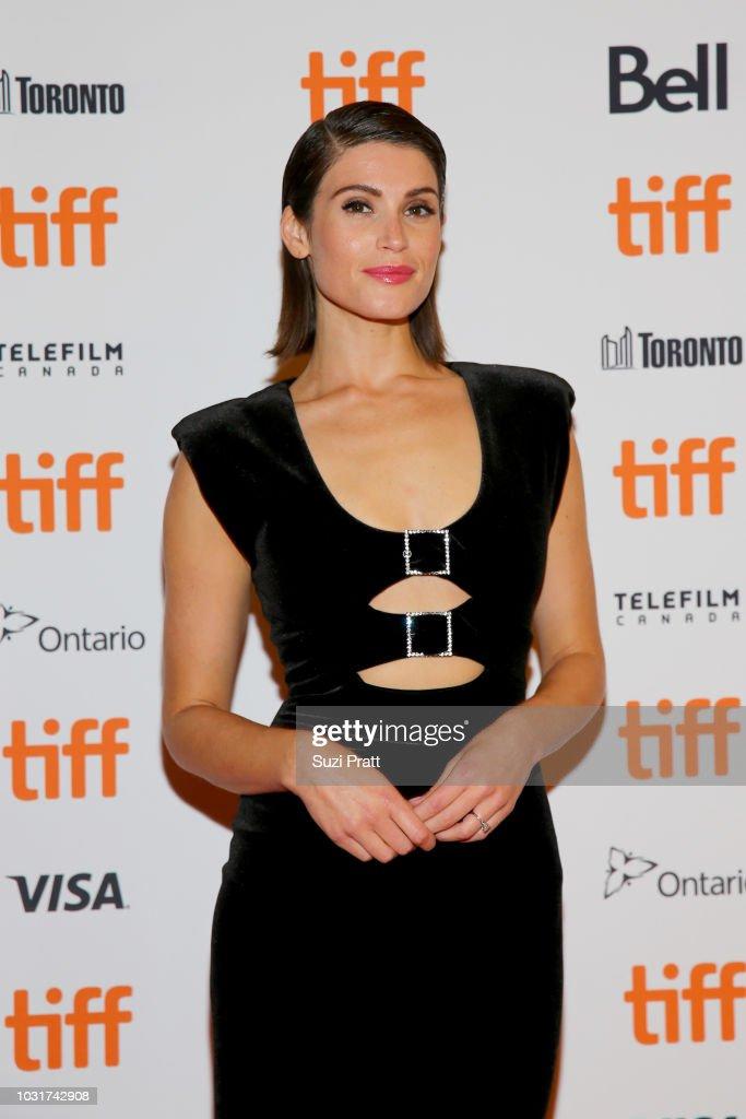 Gemma Arterton attends the 'Vita & Virginia' premiere during 2018 Toronto International Film Festival at Winter Garden Theatre on September 11, 2018 in Toronto, Canada.