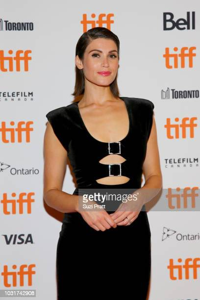 Gemma Arterton attends the 'Vita Virginia' premiere during 2018 Toronto International Film Festival at Winter Garden Theatre on September 11 2018 in...