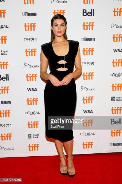 Gemma Arterton attends the 'Vita Virginia' premiere during 2018 Toronto International Film Festival at Winter Garden Theatre on September 11 2018 in...