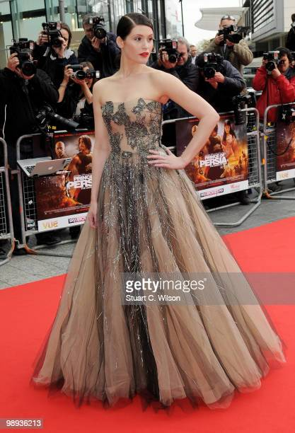 Gemma Arterton attends the World Premiere of 'Prince of Persia The Sands of Time' at the Vue Westfield on May 9 2010 in London England