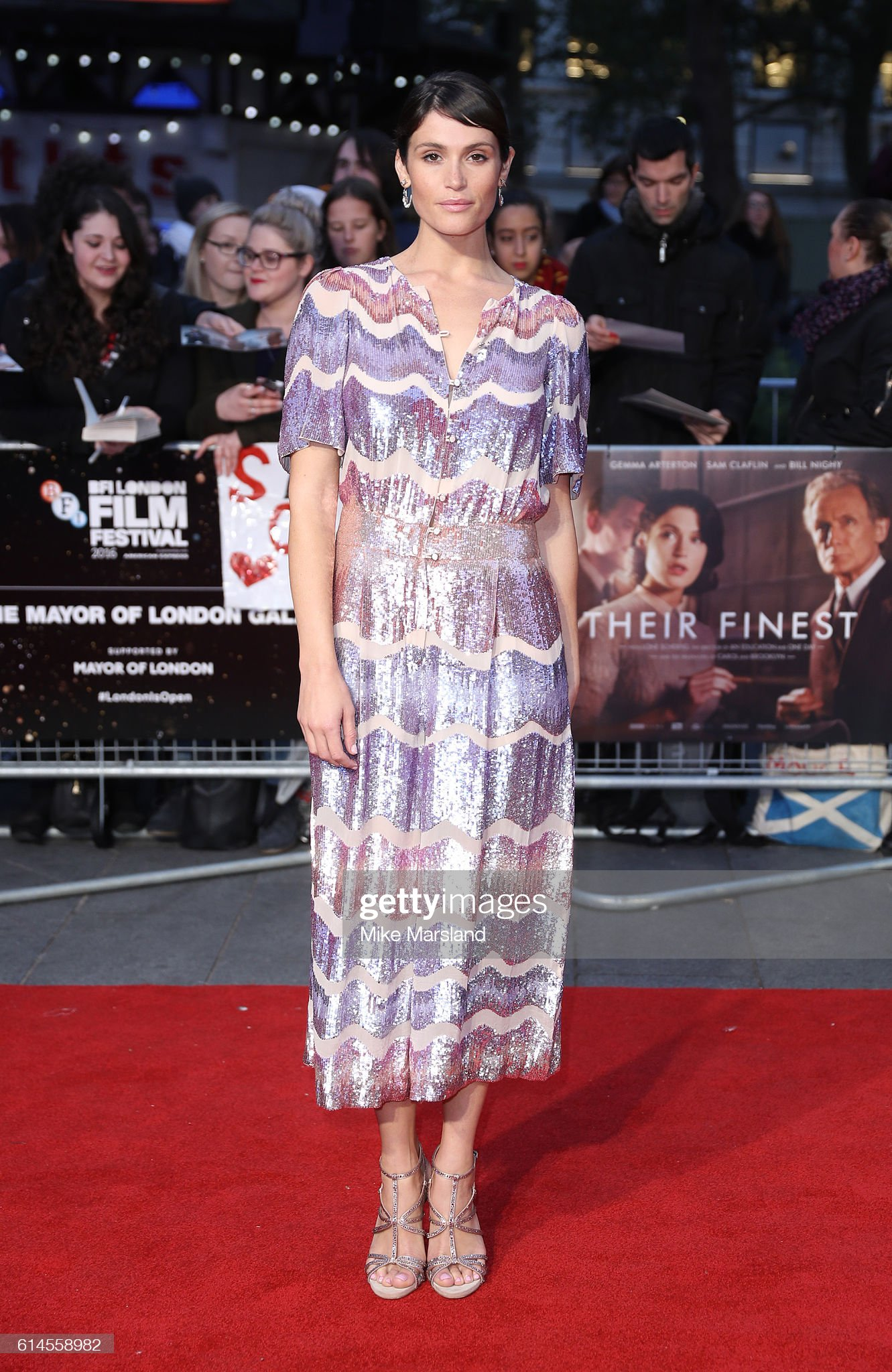 gemma-arterton-attends-their-finest-mayors-centrepiece-gala-screening-picture-id614558982