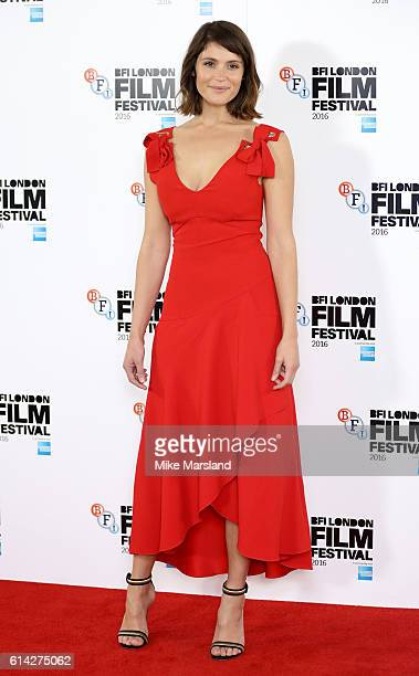 Gemma Arterton attends 'Their Finest' photocall during the 60th BFI London Film Festival at The Mayfair Hotel on October 13 2016 in London England