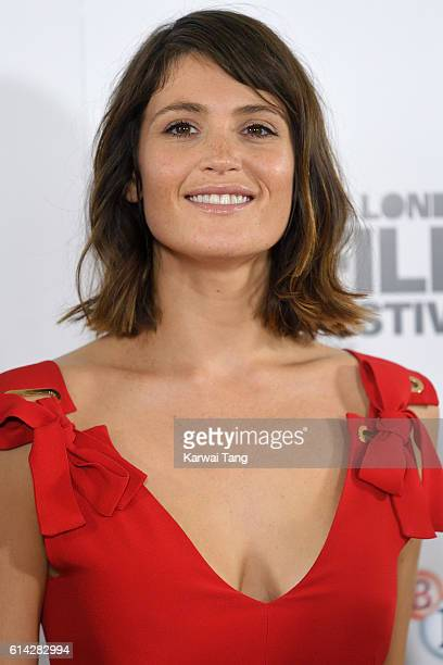 Gemma Arterton attends 'Their Finest' photocall during the 60th BFI London Film Festival at The Mayfair Hotel on October 13, 2016 in London, England.