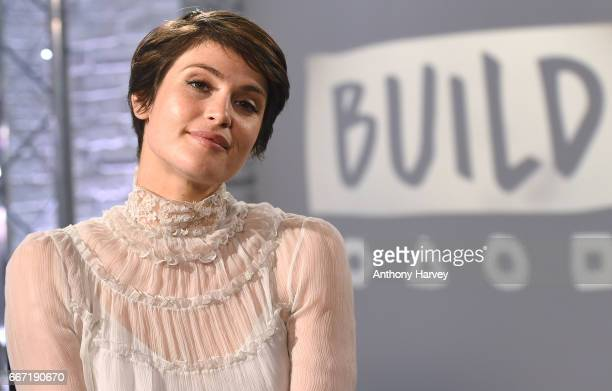 Gemma Arterton during a Build LDN live interview at AOL London on April 11, 2017 in London, England.