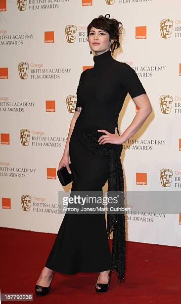 Gemma Arterton In The Press Room At The 2009 British Academy Film Awards At The Royal Opera House In Covent Garden Central London