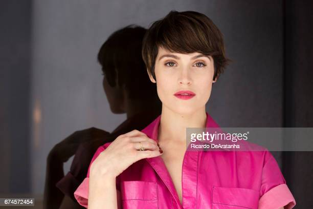 Gemma Arterton is photographed for Los Angeles Times on April 7, 2017 in Los Angeles, California. PUBLISHED IMAGE. CREDIT MUST READ: Ricardo...