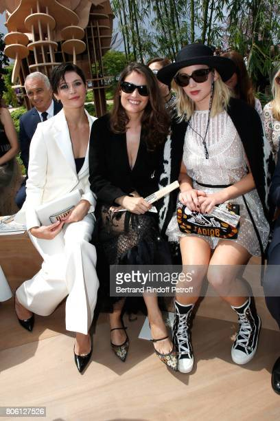 Gemma Arterton Laetitia Casta and Jennifer Lawrence attend the Christian Dior Haute Couture Fall/Winter 20172018 show as part of Haute Couture Paris...