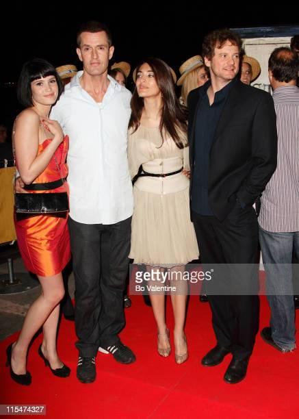 Gemma Arterton Rupert Everett Caterina Murino and Colin Firth