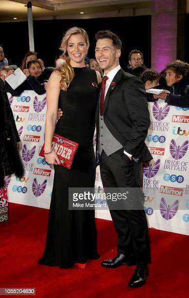 Gemma Atkinson and Giovanni Pernice attend the Pride of Britain Awards 2018 at The Grosvenor House Hotel on October 29 2018 in London England