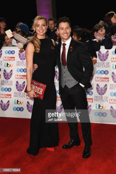 Gemma Atkinson and Gorka Marquez attend the Pride of Britain Awards 2018 at The Grosvenor House Hotel on October 29 2018 in London England
