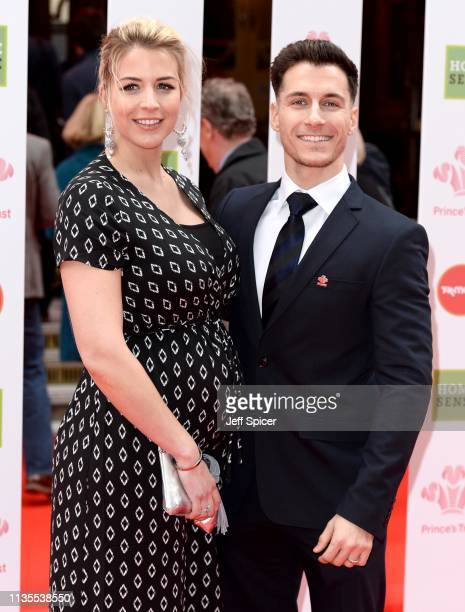 Gemma Atkinson and Gorka Marquez attend The Prince's Trust TKMaxx and Homesense Awards at The Palladium on March 13 2019 in London England