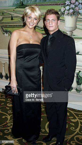 Gemma Atkinson and Phillip Olivier arrive at the RTS Programme Awards 2005 the annual awards presented by The Royal Television Society honoring...
