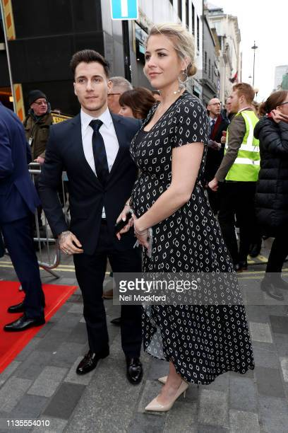 Gemma Atkinson arrives for The Prince's Trust Awards at The Palladium on March 13 2019 in London England