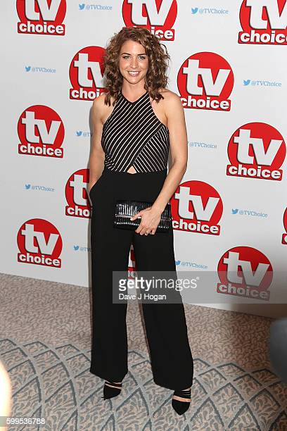 Gemma Atkinson arrives for the TVChoice Awards at The Dorchester on September 5 2016 in London England