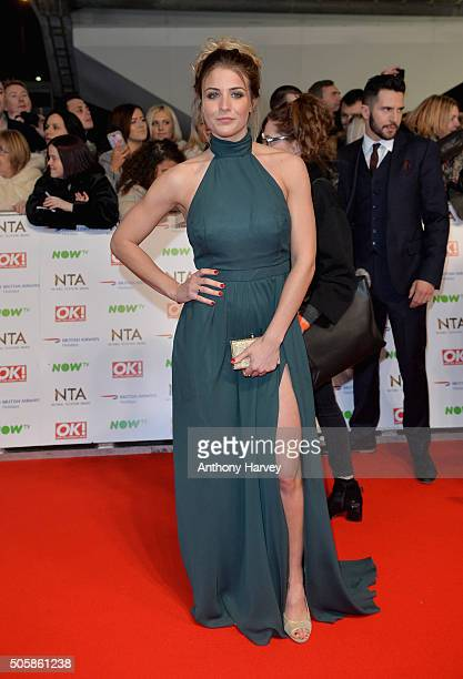 Gemma Atkinson attends the 21st National Television Awards at The O2 Arena on January 20 2016 in London England