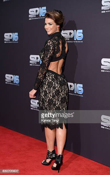 Gemma Atkinson attends the BBC Sports Personality Of The Year at Resorts World on December 18 2016 in Birmingham United Kingdom