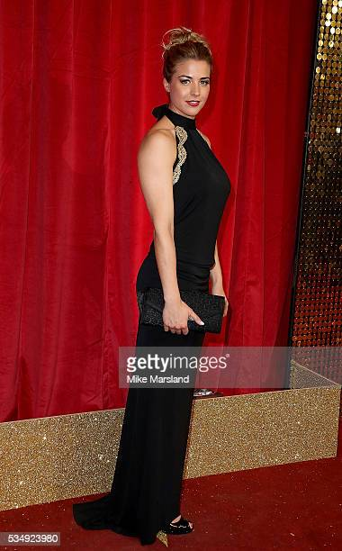 Gemma Atkinson attends the British Soap Awards 2016 at Hackney Empire on May 28 2016 in London England