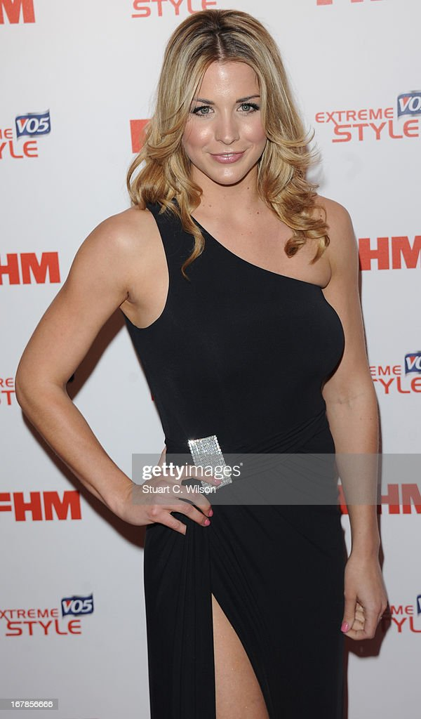 Gemma Atkinson attends the FHM 100 Sexiest Women In The World 2013 Launch Party at Sanderson Hotel on May 1, 2013 in London, England.