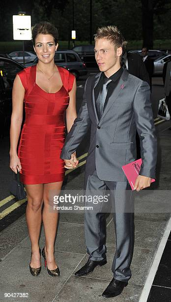 Gemma Atkinson attends the Harper's Bazaar Women Of The Year Awards at The Dorchester on September 7 2009 in London England