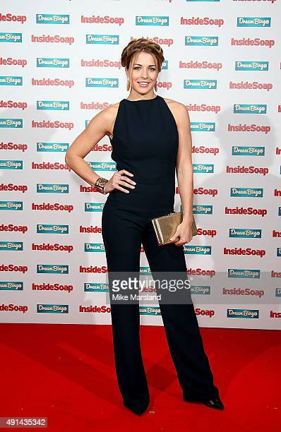 Gemma Atkinson attends the Inside Soap Awards at DSKTRT on October 5 2015 in London England