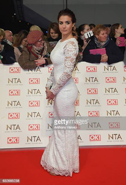 Gemma Atkinson attends the National Television Awards on January 25 2017 in London United Kingdom