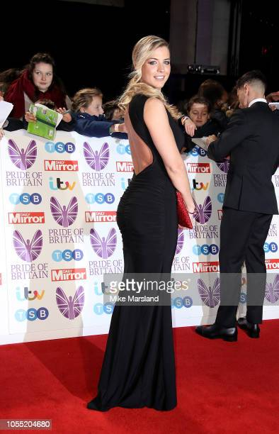Gemma Atkinson attends the Pride of Britain Awards 2018 at The Grosvenor House Hotel on October 29 2018 in London England