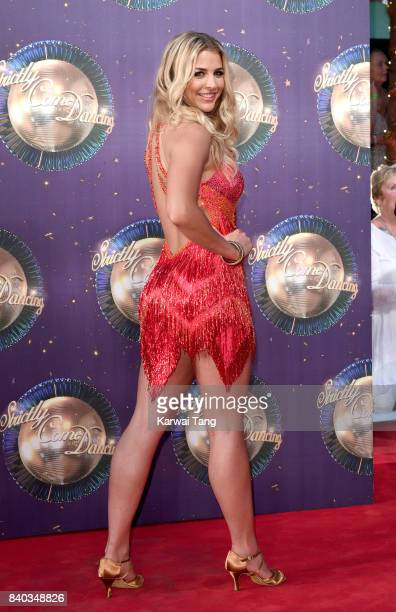 Gemma Atkinson attends the 'Strictly Come Dancing 2017' red carpet launch at Broadcasting House on August 28 2017 in London England