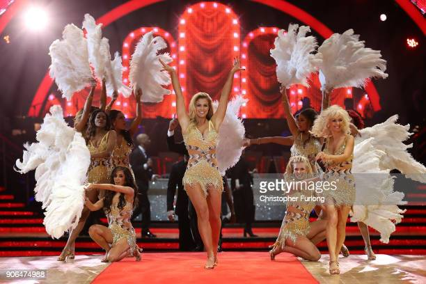 Gemma Atkinson attends the 'Strictly Come Dancing' Live photocall at Arena Birmingham on January 18 2018 in Birmingham England Ahead of the opening...